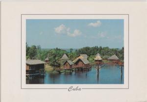 CUBA, Matanzas, Guama, 1996 used Postcard