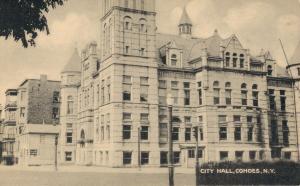 USA - City Hall Cohoes New York 01.62