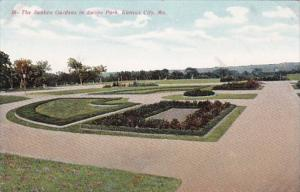 Misouri Kansas City The Sunken Gardens In Swope Park