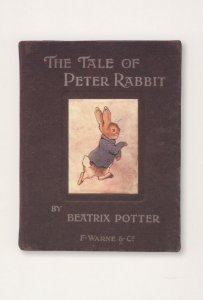 The Tale Of Peter Rabbit 1902 Beatrix Potter Book Postcard