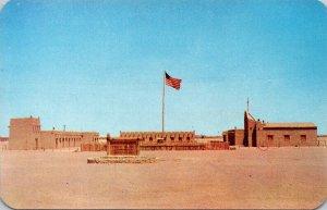 Texas El Paso Fort Bliss Adobe and Log Replica