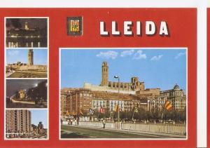 Postal 045679 : Lleida. Diferents aspectes