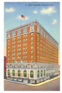 Hotel Charlotte, Charlotte, North Carolina, 40-60s