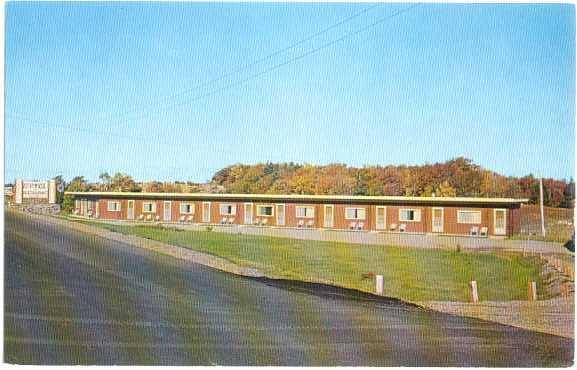 Parkview Motel Cheticamp Cape Breton Nova Scotia NS Canada Chrome