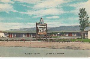 UKIAH , California, 30-40s ; Rancho Siesta
