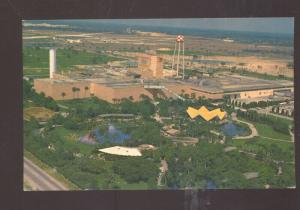 TAMPA FLORIDA ANHEUSER BUSCH BREWERY AERIAL VIEW VINTAGE POSTCARD