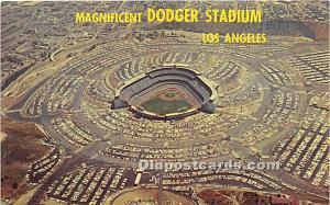 Dodger Stadium Los Angeles, California, CA, USA 1992