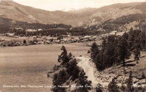 H80/ Boulder Canon Colorado RPPC Postcard c1930s Nederland Lake 174