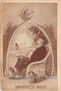 Brightest Days  Postcards Post Cards Old Vintage Antique  Brightest Days