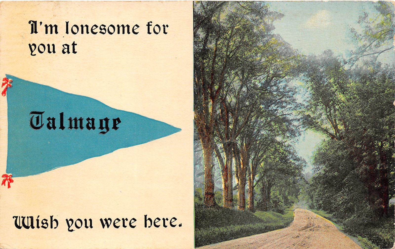 Talmage Pennsylvania~Country Road~