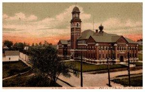 Massachusetts Lawrence , A.B. Bruce School