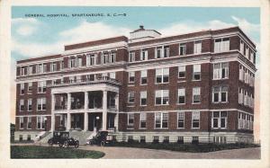 General Hospital , SPARTANBURG , South Carolina , 1910s