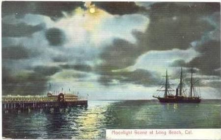 Moonlight, Ship, Long Beach, California, 00-10s