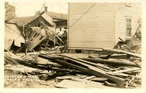 PA - Apollo. March 19, 1936 Flood. Clifford Avenue .   *RPPC