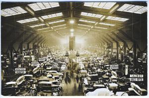 Auto Show Interior Rolls Royce Citroen Austro-Daimler Real Photo RPPC Postcard