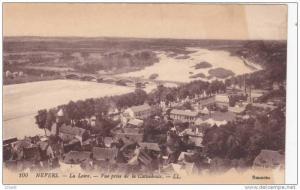 NEVERS, La Loire, Vue prise de la Cathedrale, Nievre, France, 00-10s