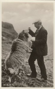 RP; Man & Sheep , The Tit-Bit , 1910s