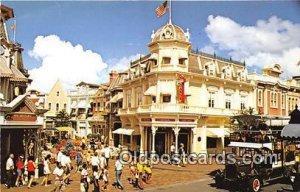Main Street, USA Walt Disney World, FL, USA Unused
