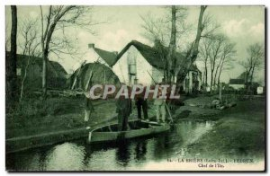 The Briere Old Postcard Fedrun Head of & # 39ile