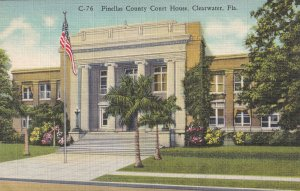 CLEARWATER, Forida, 1930-1940s; Pinellas County Court House