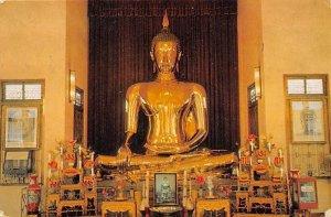 Buddha Bangkok Thailand Ship Cancel 1979