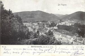 AK Germany 1900s Die Vogesen Schirmeck