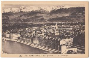 France, GRENOBLE, Vue generale, unused Postcard