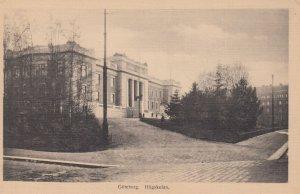 GOTEBORG. Hogskolan. Sweden , 1900-10s