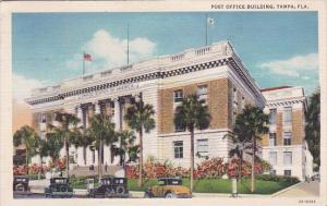 Florida Tampa Post Office Building 1937
