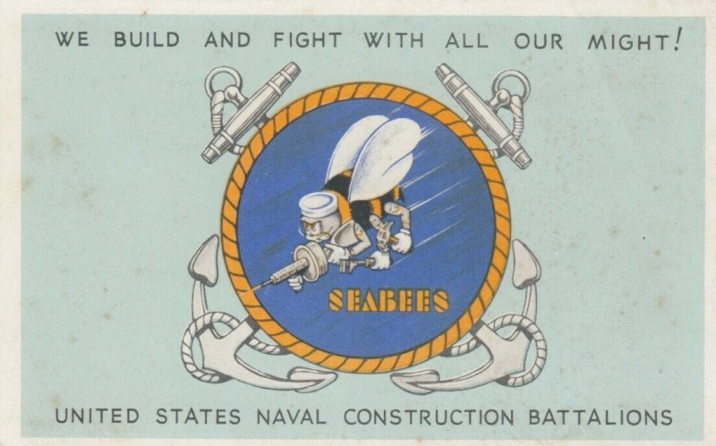 RICHMOND, Virginia, 10-30s; Seabees, We Build and Fight with All Our Might