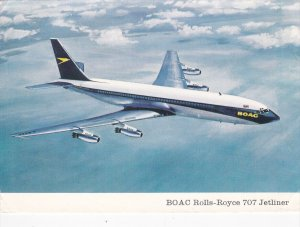 BOAC Rolls-Royce 707 Jetliner Airplane , PU-1972