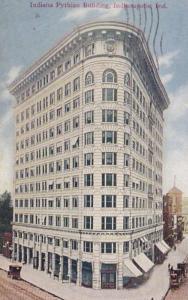 Indiana Indianapolis Indiana Pythian Building 1910