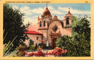 California Carmel Mission San Carlos Del Carmelo