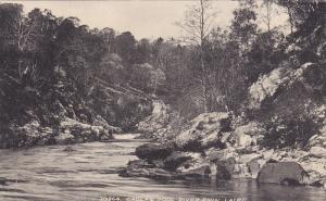 SUTHERLAND, Scotland, 1900-1910´s; Gaolag Pool, River Shin, Lair G.