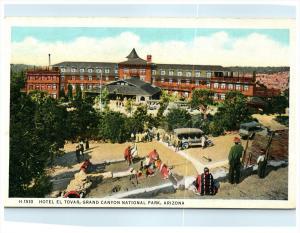 21548 Arizona Grand Canyon   Hotel El Tovar, Indians,