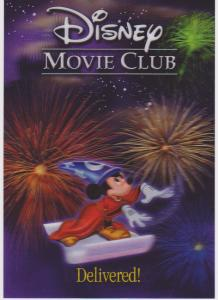 DISNEY MOVIE CLUB LENTICULAR - SORCERER MICKEY - 615