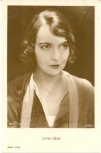 Lillian Gish Actor / Actress Movie Star Unused close to perfect corners