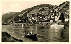 Germany - Krone on the Rhein   *RPPC