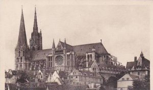 France Chartres La Cathedrale