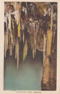 BERMUDA, 1900-10s; Stalactites, Leamington Cave