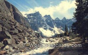 Canada Canadian Rockies Valley of the Ten Peaks, Moraine Lake