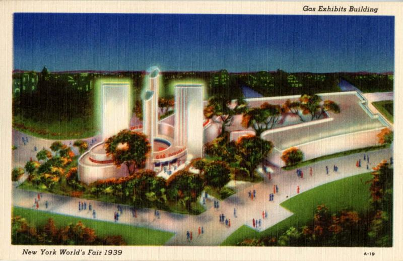 NY - New York World's Fair, 1939. Gas Exhibits Building