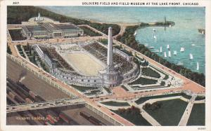 Soldiers Field Stadium & Museum , Lake Front , Chicago , Illinois , 1910-20s