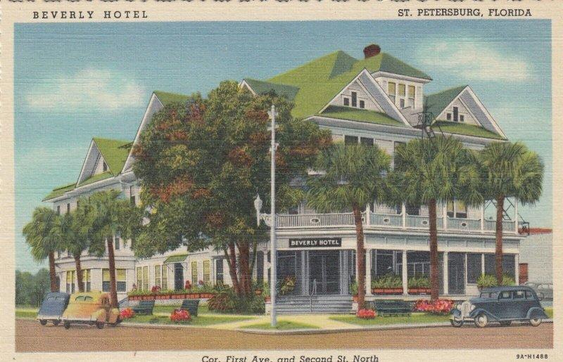 ST PETERSBURG , Florida , 1930-40s ; Beverly Hotel