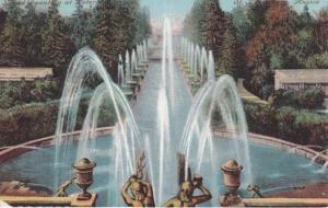 Grand Samson Fountain at Peterhof near St. Petersburg, Russia - DB
