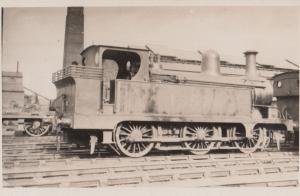 LMS Railway Class 0-6-0T No 1557 NSR16 Antique Train Real Photo Postcard