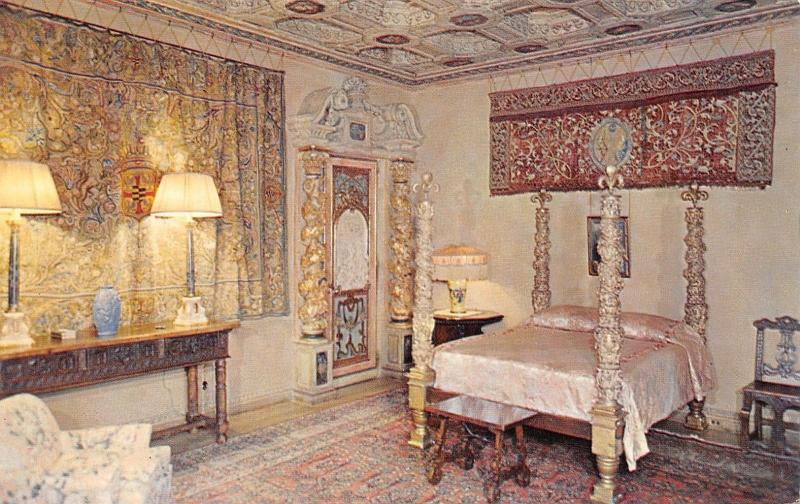 San Simeon California~Hearst Castle~Casa Del Mar~Guest Bedroom~Route 1~1960s