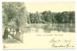 The Jordan River , Jordan, 1904