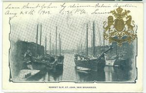 Market Slip, St John NB