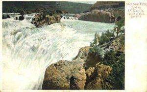 O.S.L. Ry. Shoshone Falls - Twin Falls, Idaho ID